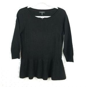 Ann Taylor Black Cashmere Sweater